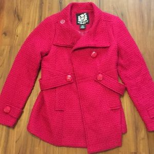 Wet Seal Pink Coat Large